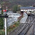 Llangollen Train Station by Christopher Rowlands