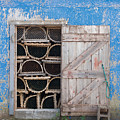 Lobster Trap Storage-3 by Steve Somerville