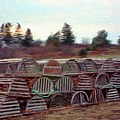 Lobster Traps by Jeff Kolker