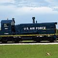 Locomotive For Titan Rockets At Cape Canaveral In  Florida by Allan  Hughes