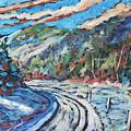 Loggers Road  by Richard T Pranke