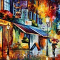 London - The Swan by Leonid Afremov