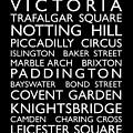 London Bus Roll by Michael Tompsett