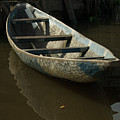 Lone Canoe by David Shaffer