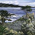 Lone Cypress by Lisa Reinhardt
