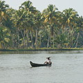 Lone Fisherman by Reshmi Shankar