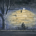 Lonely In Paris by Mary Tuomi