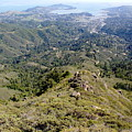 Looking Down From The Top Of Mount Tamalpais 2 by Ben Upham III