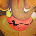 Lord Ganesh Ji by Riya Rathore