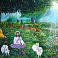 Lord Jesus And Lord Krishna by Sundara Fawn