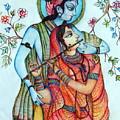 Lord Radha Krishna's Divine Love by Kavita Sarawgi