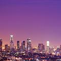 Los Angeles At Dusk by Dj Murdok Photos