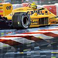 Lotus 99t 1987 Ayrton Senna by Yuriy  Shevchuk