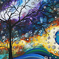 Love And Laughter By Madart by Megan Duncanson