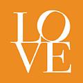 Love In Orange by Michael Tompsett