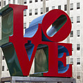 Love Park In Center City - Philadelphia by Brendan Reals