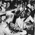 Lunch Counter Sit-in, 1963 by Granger