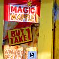 Magic Waffle by Jez C Self