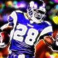 Magical Adrian Peterson   by Paul Van Scott