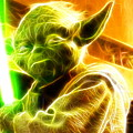 Magical Yoda by Paul Van Scott
