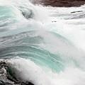 Maine Coast Storm Waves 3 Of 3 by Terri Winkler