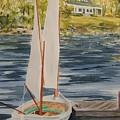 Maine Sail by Jackie Mueller-Jones