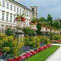 Majestic Salzburg Garden by Carol Groenen