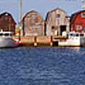 Malpeque Harbour Panorama by Louise Heusinkveld
