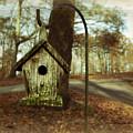 Mamaw's Birdhouse by Steven  Michael