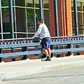 Man On The Bridge by Lenore Senior