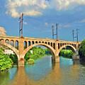 Manayunk Bridge by Bill Cannon