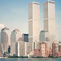 Manhattan Circa 1990 by Lauri Novak