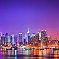 Manhattan Lights by Matthias Haker Photography