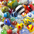 Many Beautiful Marbles by Garry Gay