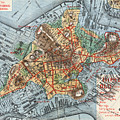 Map: Boston, C1880 by Granger