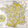 Map: France by Granger