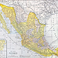 Map: Mexico by Granger