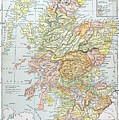 Map: Scotland by Granger