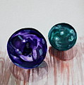 Marbles Of My Reflection by Elizabeth Robinette Tyndall