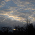 March Clouds In Dawn Sky by Kent Lorentzen
