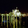 Maria Della Salute In Venice At Night by Michael Henderson