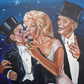 Marilyn Monroe Marries Charlie Mccarthy by Bryan Bustard