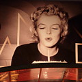 Marilyn Over The Red Carpet by Christine Burdine