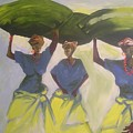 Market Women by Joe Ibenegbu Azunna