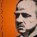 Marlon Brando by Gary Hogben