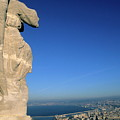 Marseille Seen From The Basilica Of Notre Dame De La Garde by Sami Sarkis