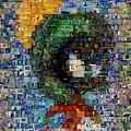 Marvin The Martian Mosaic by Paul Van Scott