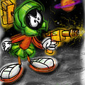 Marvin The Martian by Russell Pierce