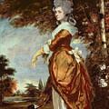 Mary Amelia First Marchioness Of Salisbury by Sir Joshua Reynolds