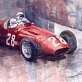 Maserati 250 F Gp Monaco 1956 Stirling Moss by Yuriy Shevchuk